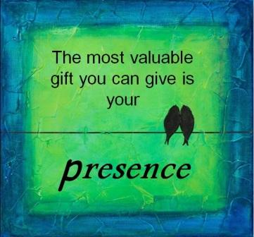 Gift your presence !